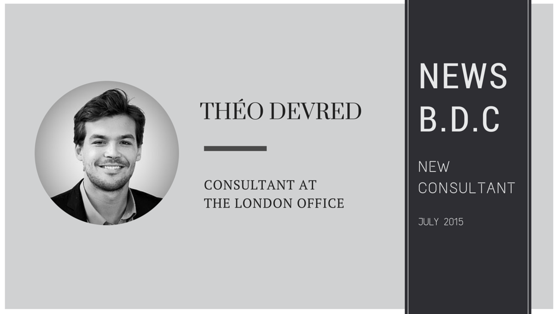 July 2015 - B.D.C recruits a new consultant in London