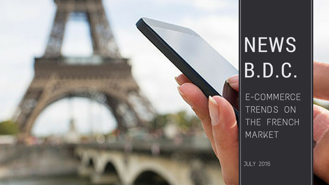 ecommerce BDC - E-commerce trends on the French market