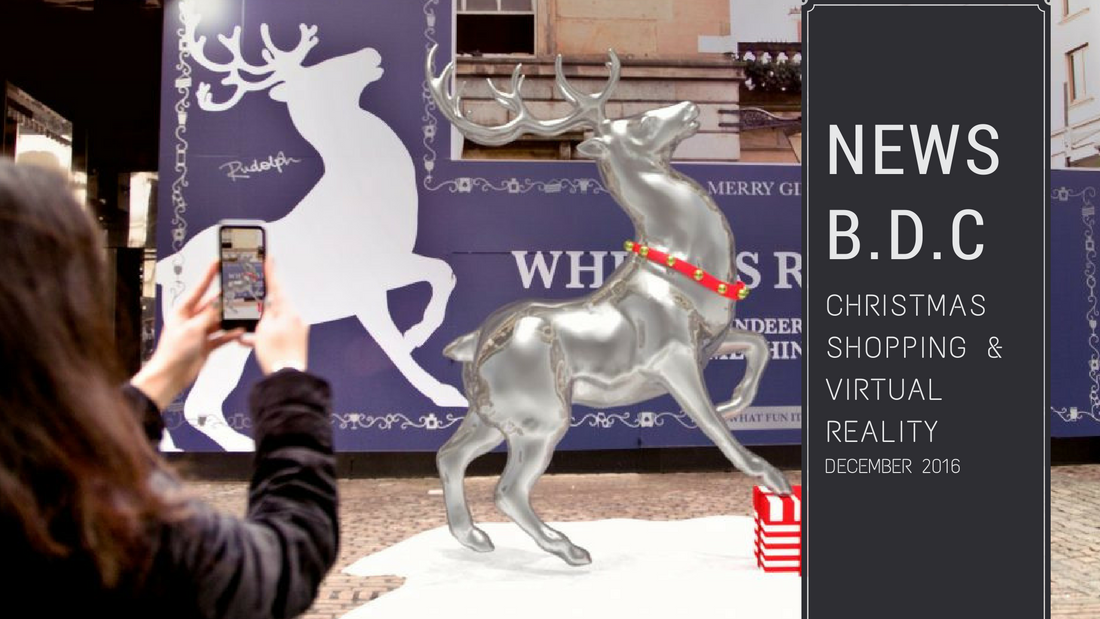 Christmas shopping and VR Dec 2016 - Christmas shopping in London & Virtual Reality