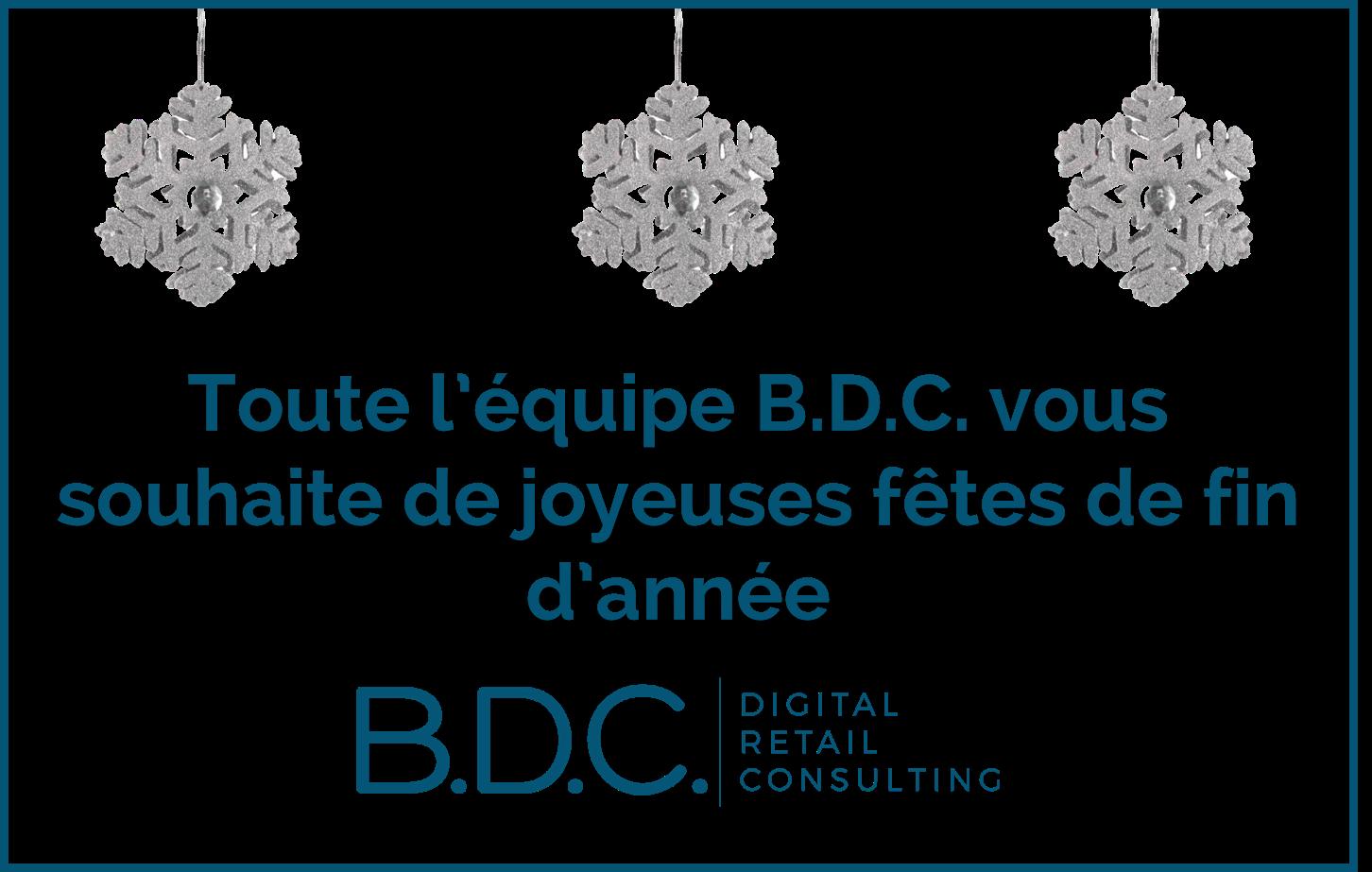 Noël B.D.C. - JOYEUSES FÊTES DE FIN D'ANNÉE !