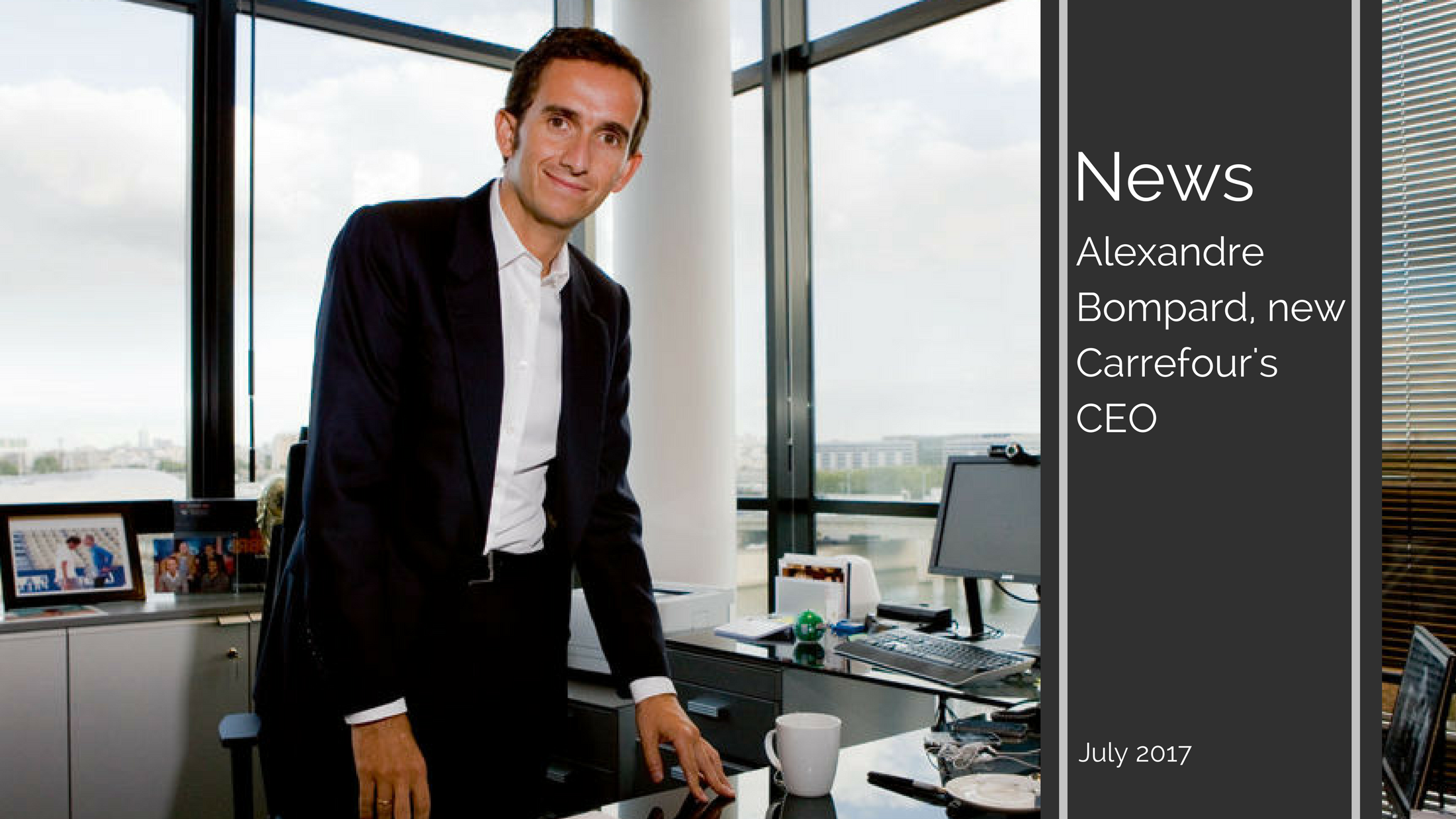 2 1 - Alexandre Bompard, new Carrefour's CEO