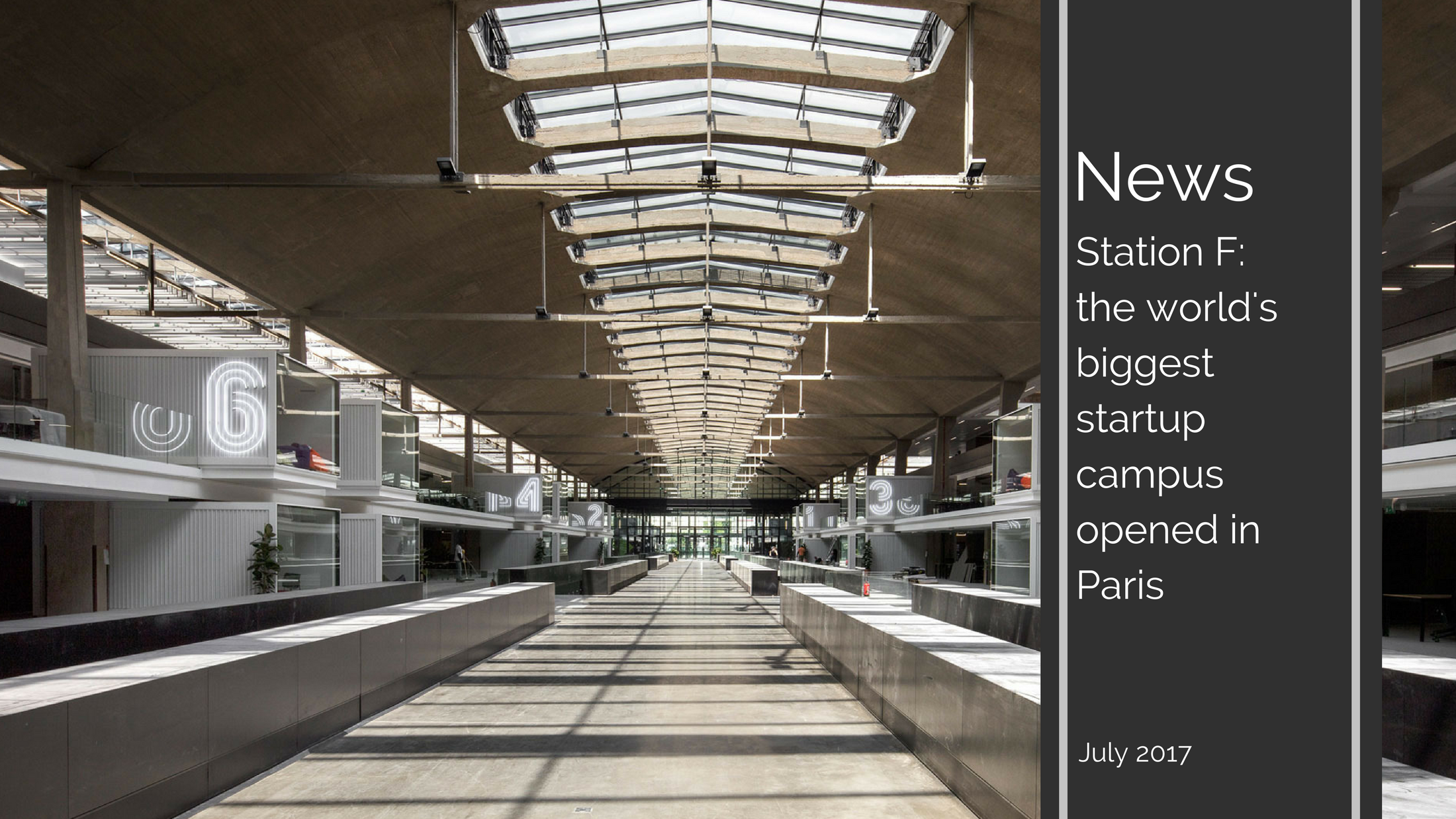 3 1 - Station F: the world's biggest startup campus opened in Paris