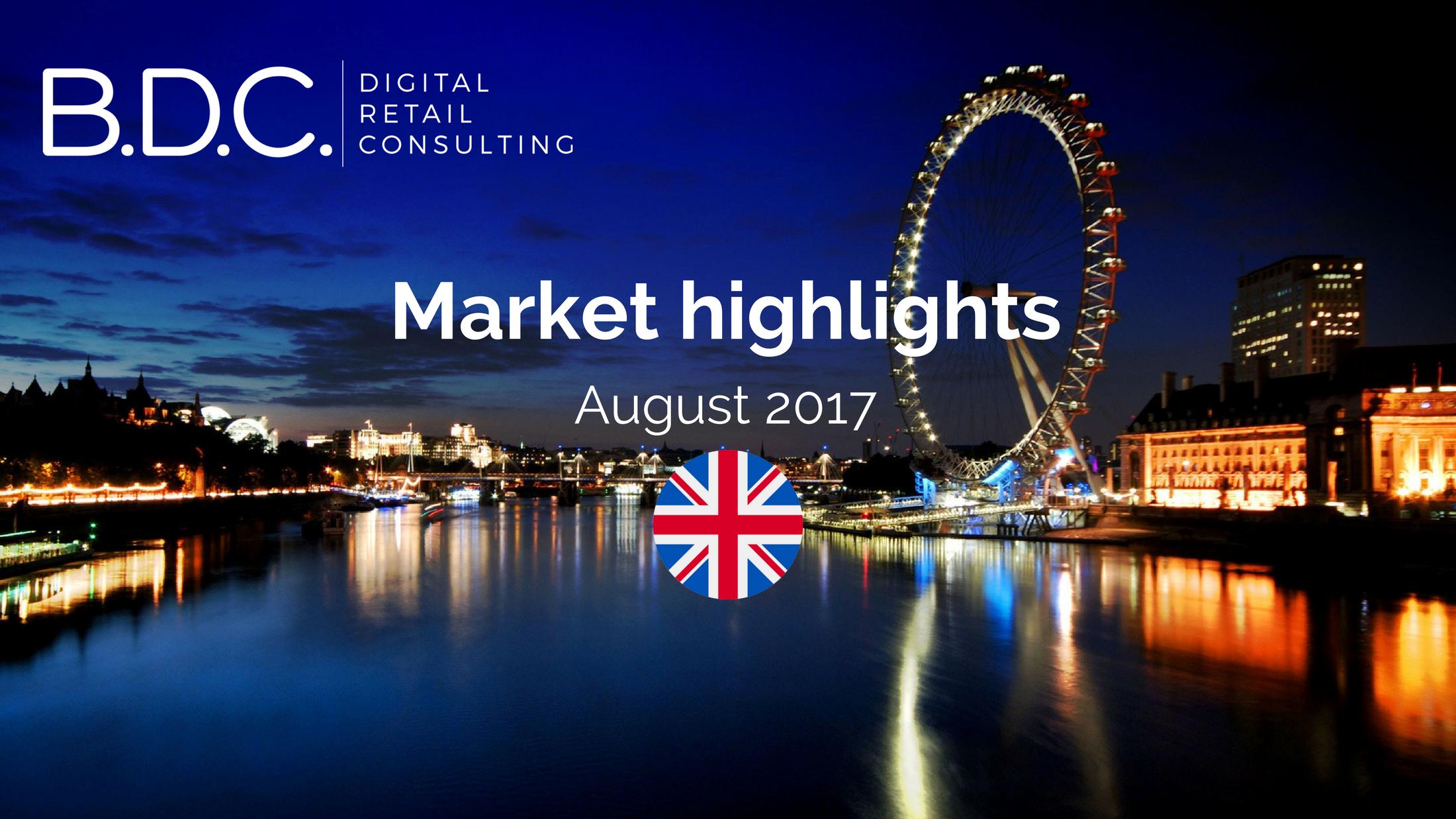 Trends News 8 - Market highlights - August 2017