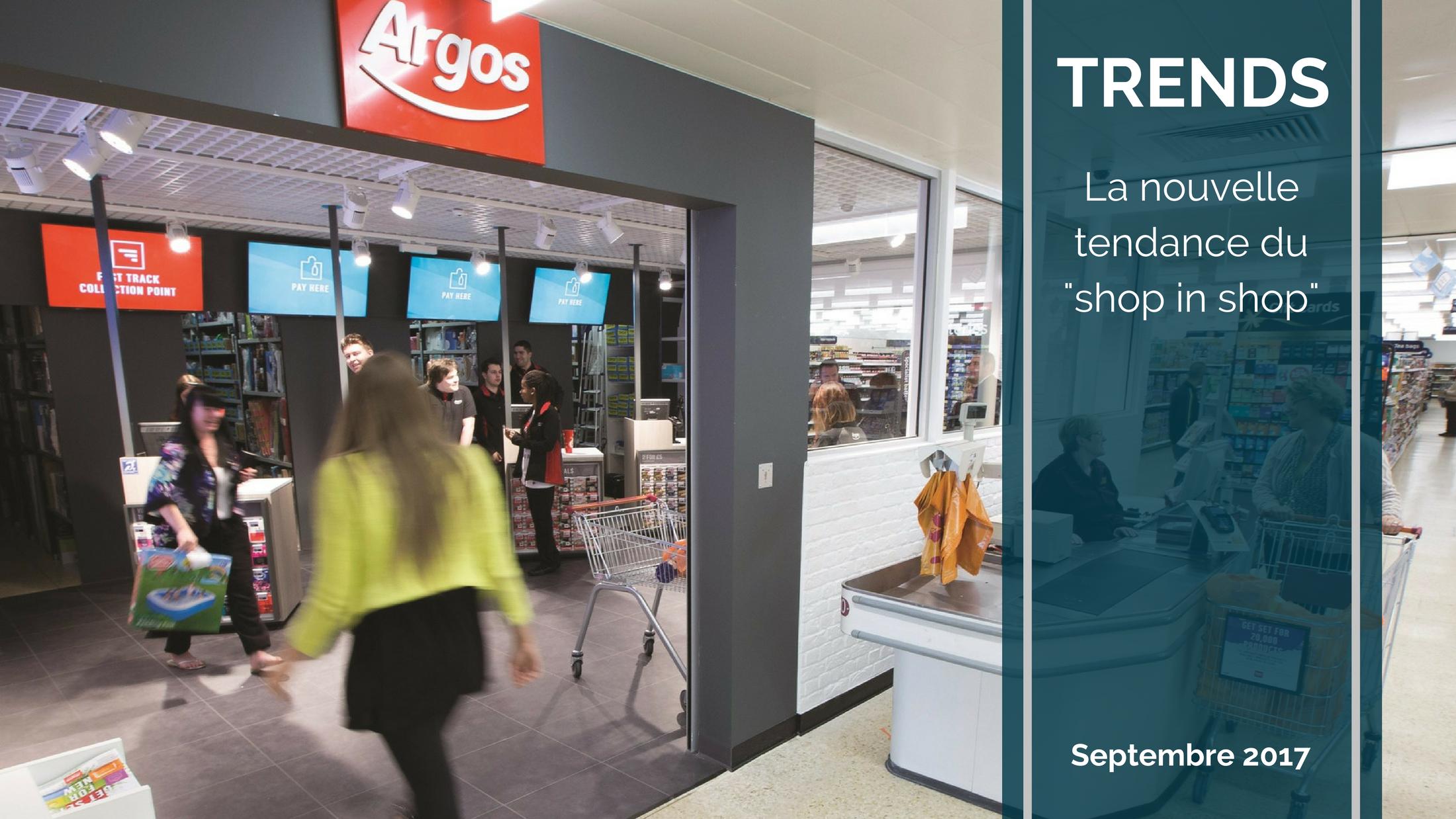 """Trends News 19 - La montée en puissance des """"shop in shop"""""""
