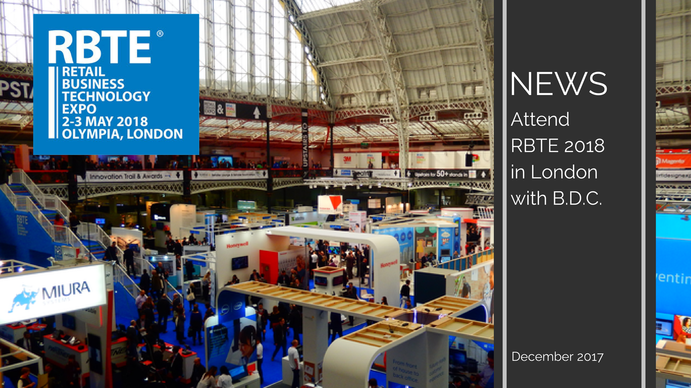 Trends News 16 - Retail Business Technology Expo (RBTE) in May 2018