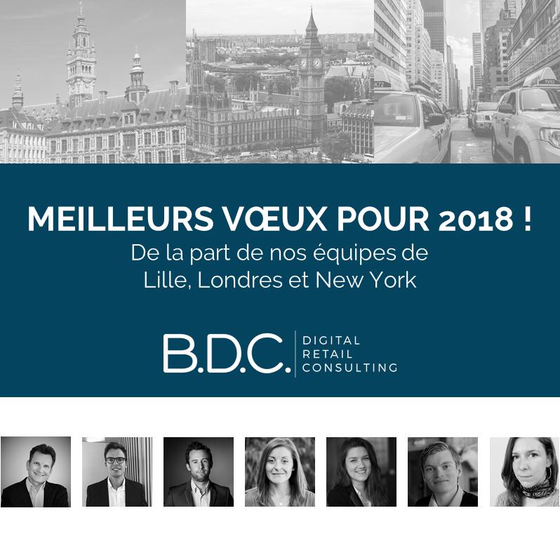 Meilleurs voeux 2018 1 - Toute l'équipe de B.D.C. vous présente ses meilleurs vœux pour 2018 !