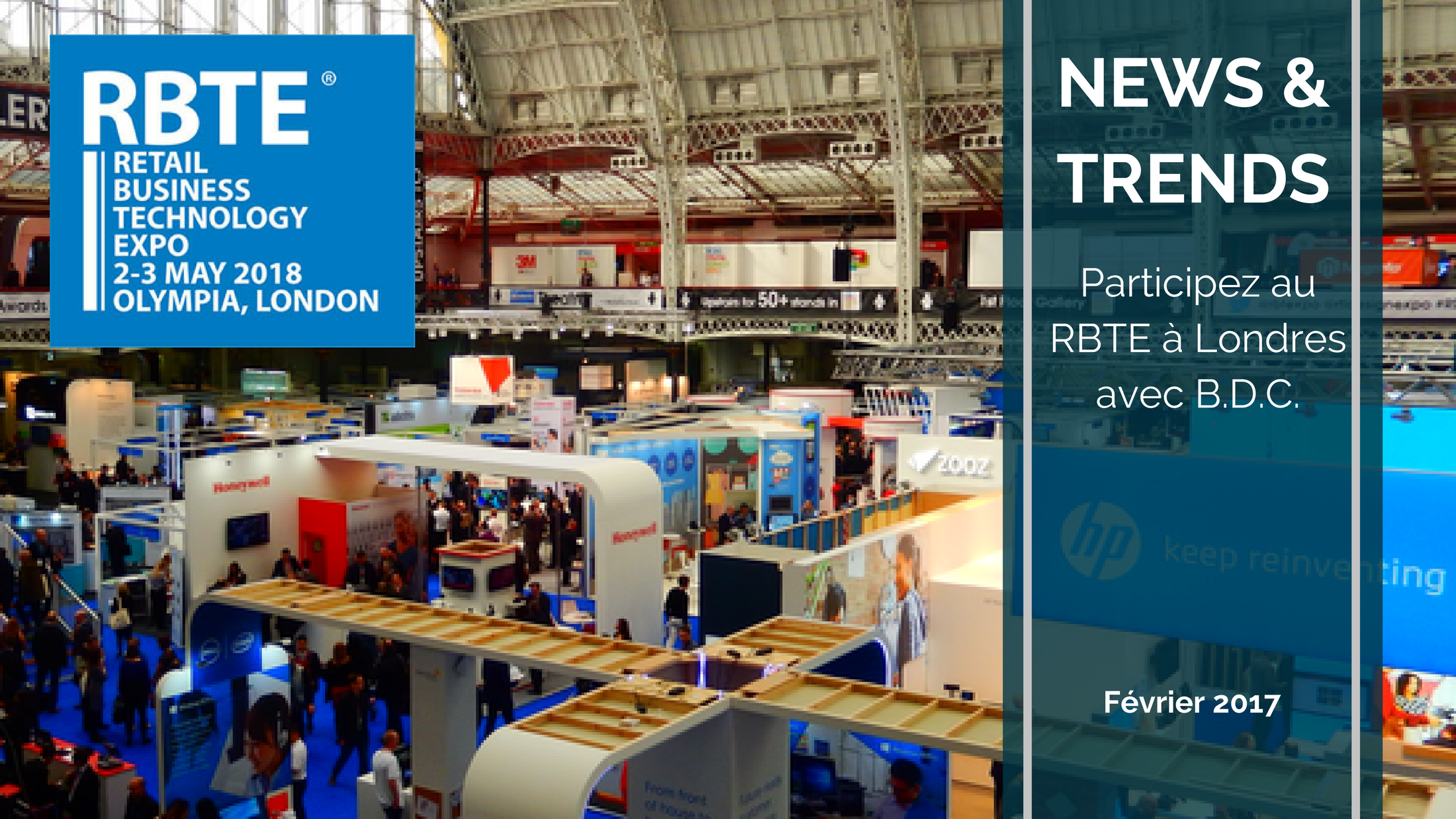Trends News suite 6 - Participez au Retail Business Technology Expo (RBTE) avec B.D.C.