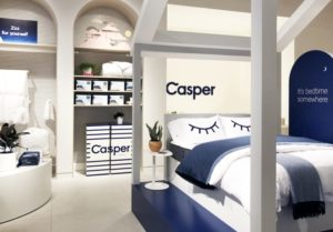 casper permanent store 300x209 - RETAIL TOUR | East vs. West Coasts: Clicks Going Bricks!