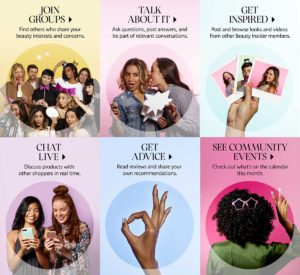 sephora community 300x275 - Best loyalty programs offer an integrated omnichannel experience