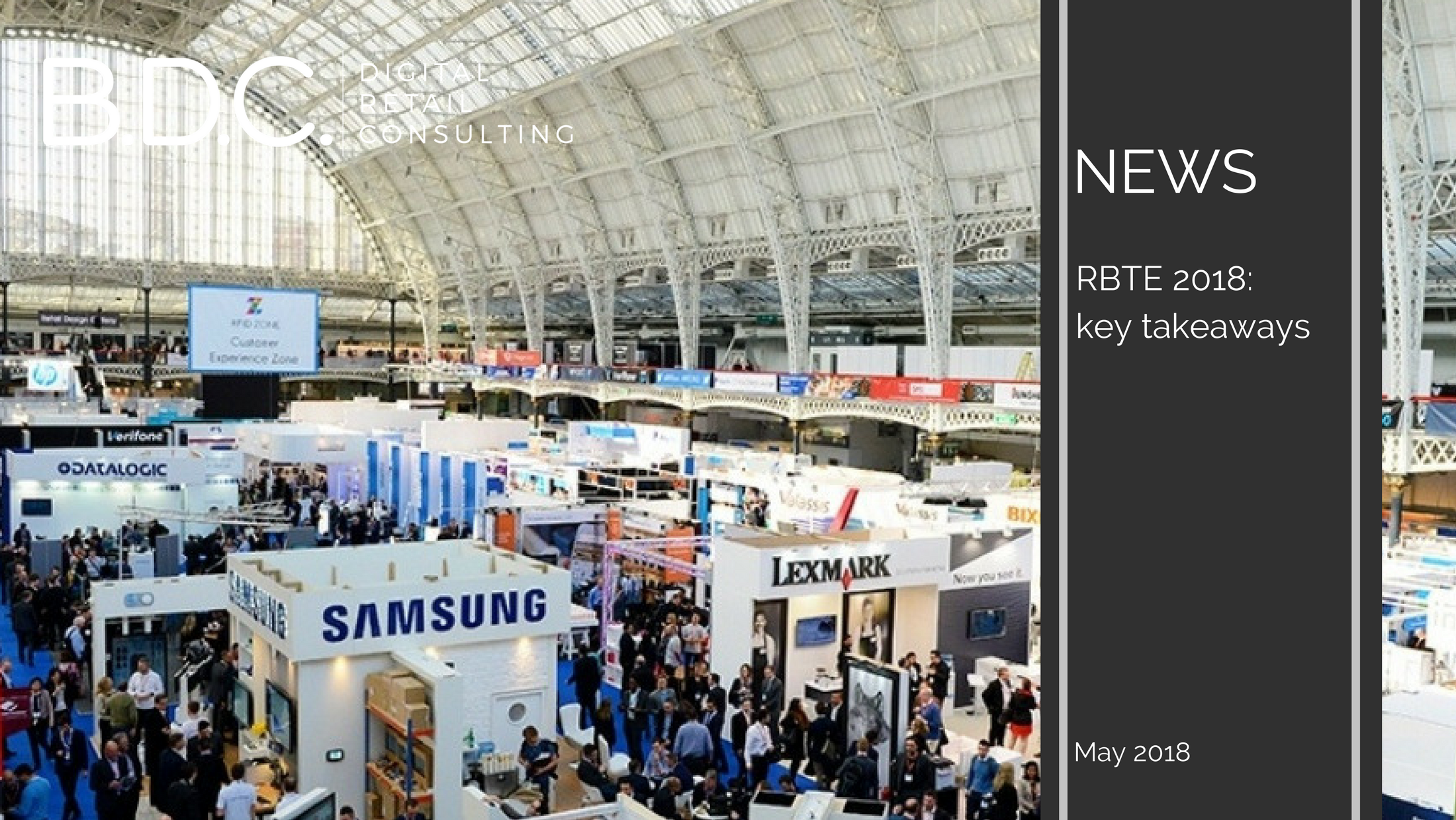 Trends News 38 - RBTE 2018: key takeways