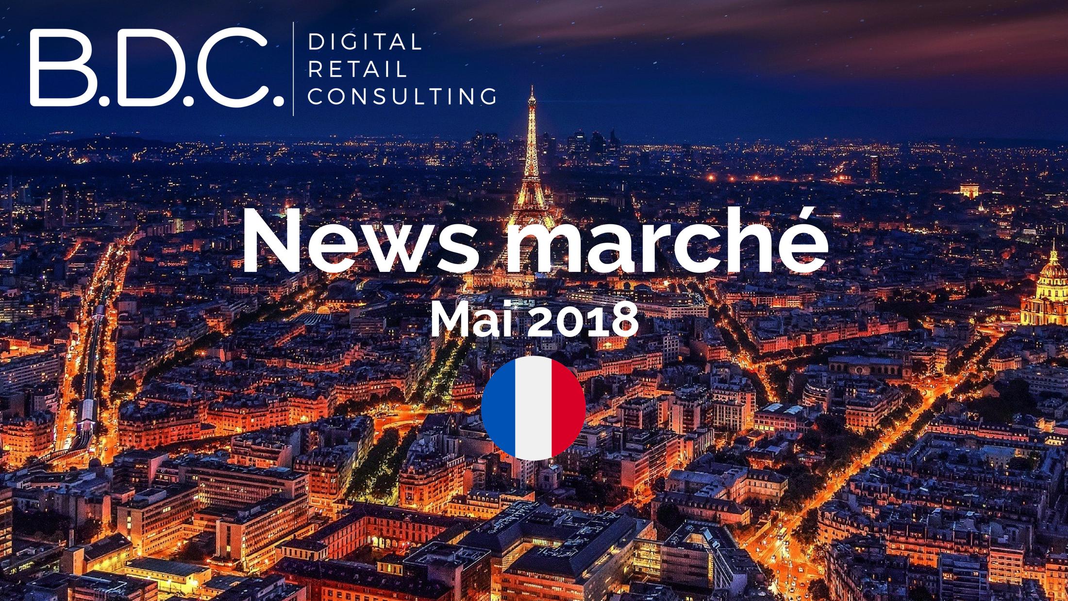 Trends News - News marché - Mai 2018
