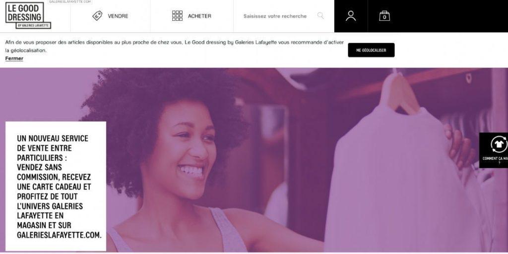 Les Galeries Lafayette arrivent marche occasion T 1024x512 - News marché - Mai 2019