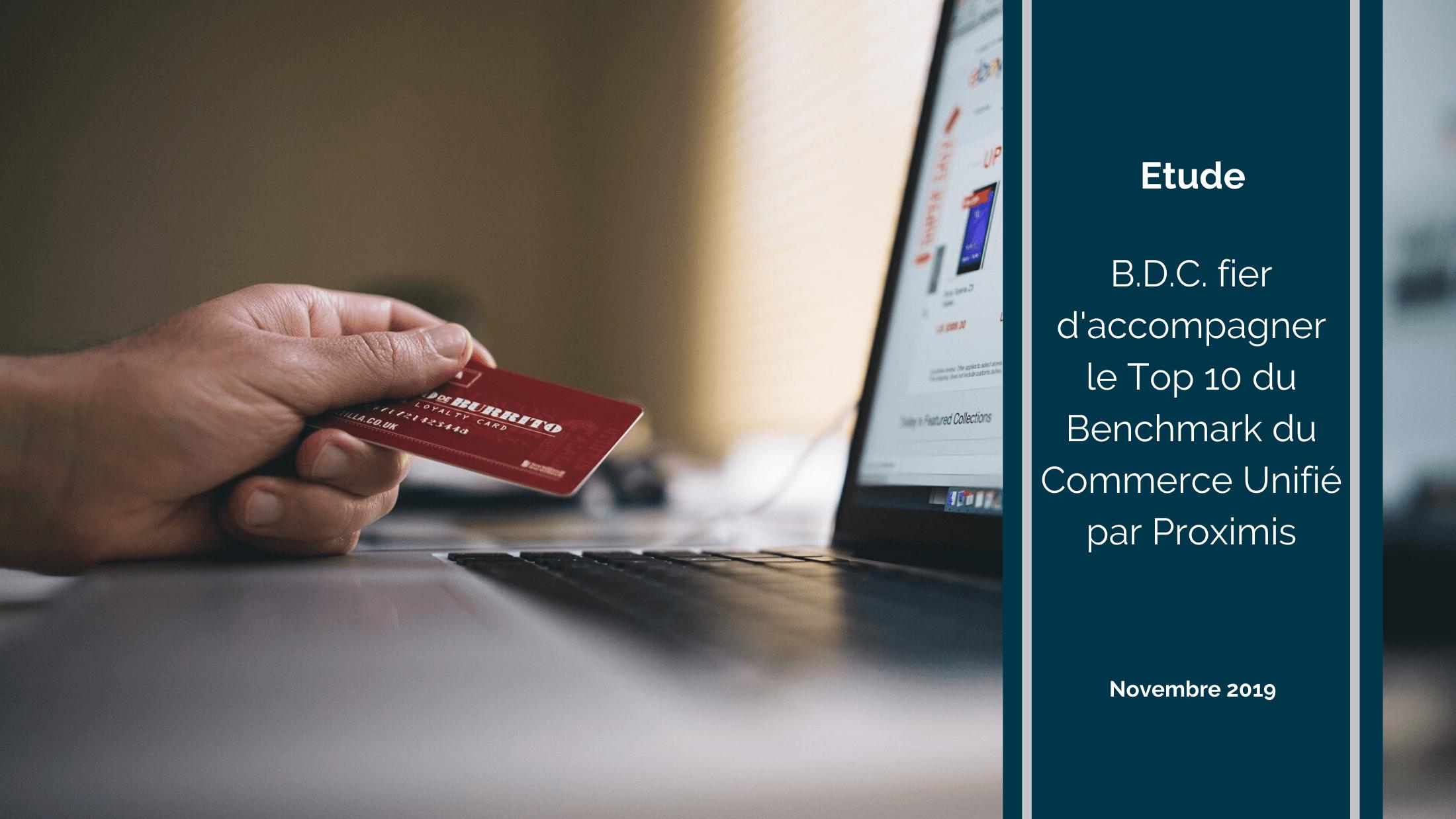 Ecommerce study benchmark 2019 Proximis