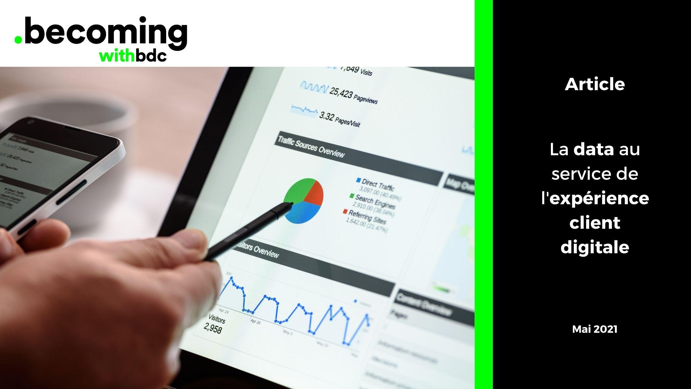Visuels Reseaux sociaux B.D.C. 20 - La data au service de l'expérience client digitale